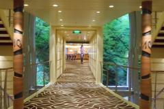 AIDAmar Deck 10 Durchgang zur AIDA Bar