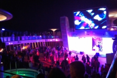 AIDAmar Pooldeck Party