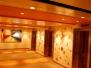 AIDAprima - Treppenhäuser und Aufzüge