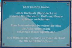 Albatros - Sportdeck - Dorfplatz
