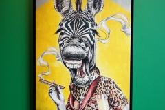 EUROPA 2 - Collins- Bild von Sutosuto - rauchendes Zebra