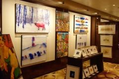 Mein Schiff 2 Kunstgalerie