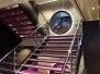NORWEGIAN GETAWAY - Treppenhäuser und Aufzüge