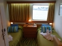 Ocean Majesty - Kabine D24 Außenkabine Komfort plus vorn Kategorie 9b
