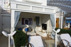 ROYAL PRINCESS - The Sanctuary - Cabana