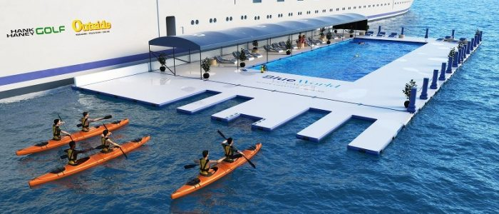 Blue World One - Sea Water Lap Pool